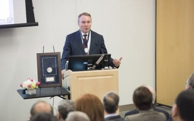 Igor Efimov Installed in Collins Professorship
