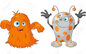 15374891-illustration-of-two-cute-little-monsters-stock-vector-monster-halloween-cute