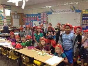 Mrs. Corbell's class 10-11-16