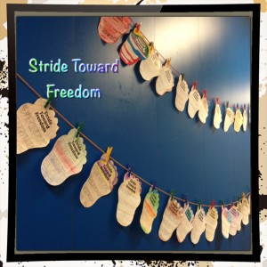 What Can You Do To Stride Toward Freedom?