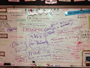 Board Full of Similes and Metaphors