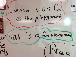 Learning in as Fun as the Playground