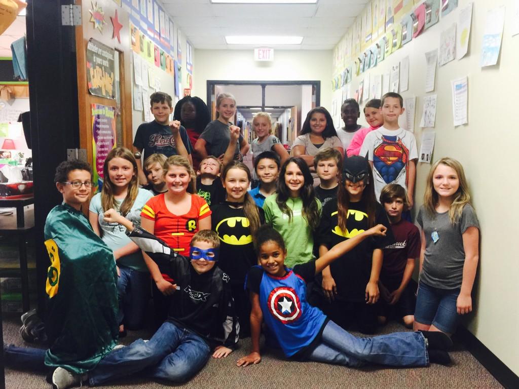 McFall's Superheroes