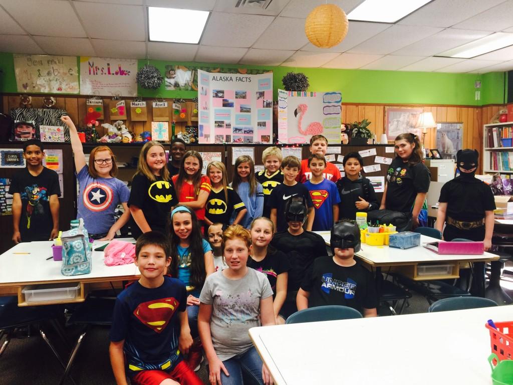 McBride's Superheroes