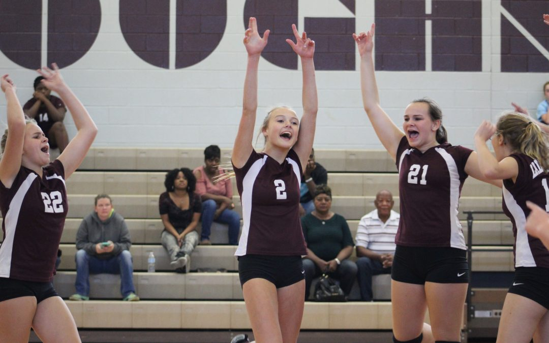 Ladynecks dominate Jefferson in District Contest