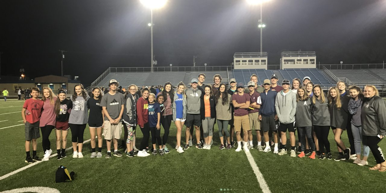 FCA Members Attend Fields of Faith Event