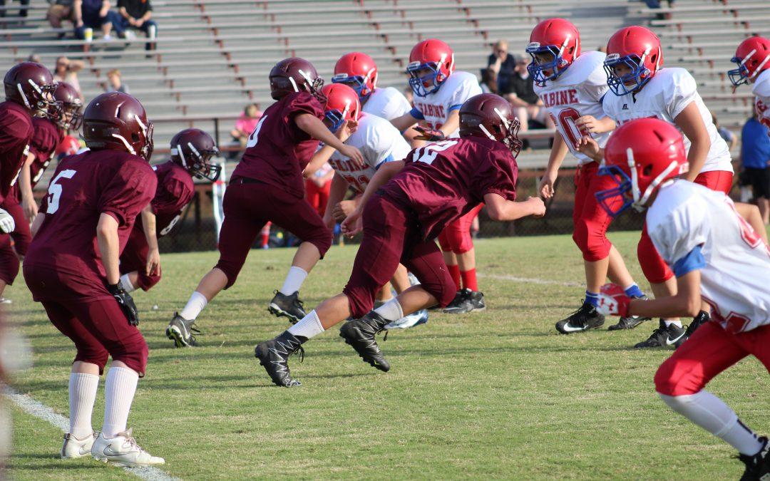 Seventh Grade Roughnecks Bag the Cardinals 44-26