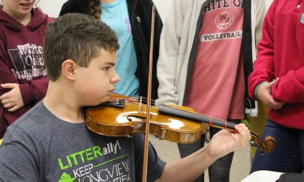 Frazier Adds Violin to His Repertoire