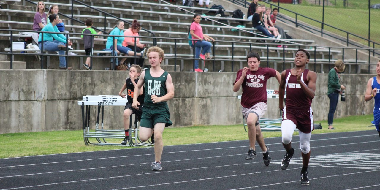 Eighth Grade 'Necks Race to District Championship