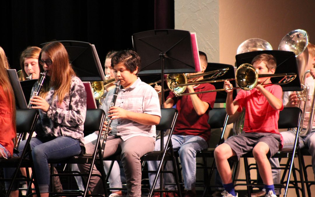 Bands Perform End of Year Concert