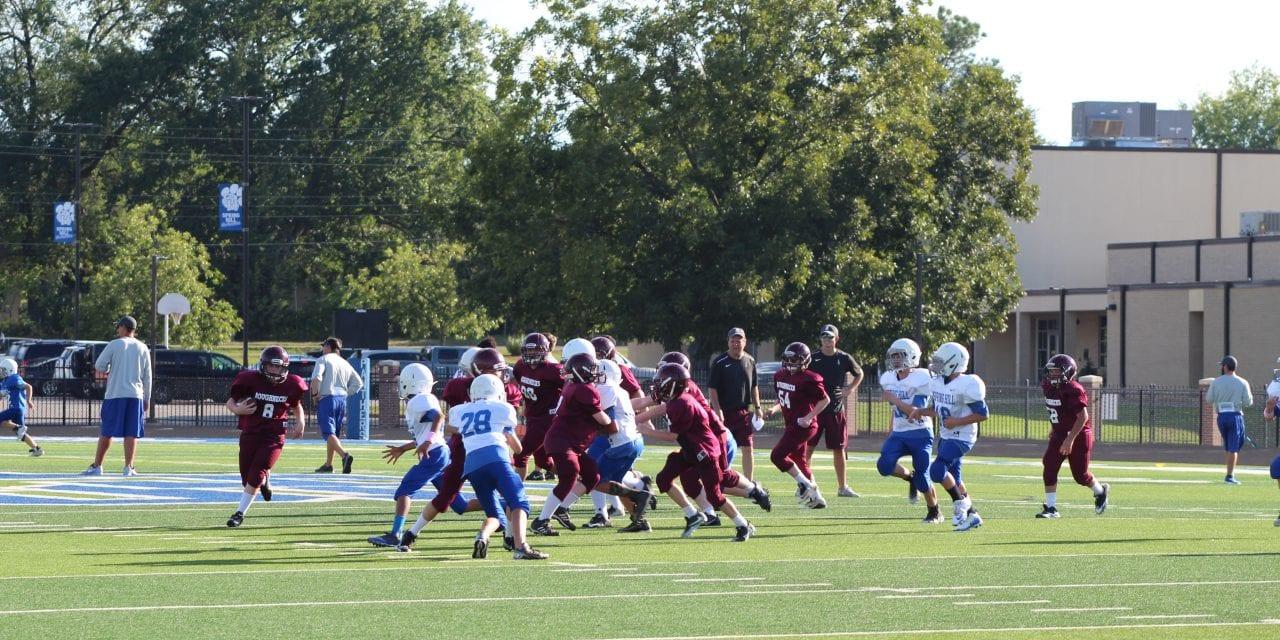 Seventh Grade 'Necks tie Spring Hill 28-28