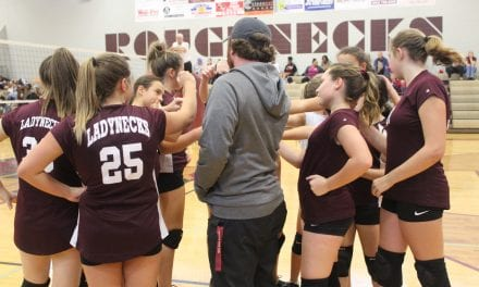 Seventh grade Ladynecks defeat Arp in district contest