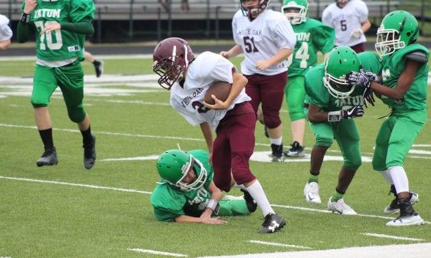 Seventh grade 'Necks roll over Tatum 46-0 in district opener