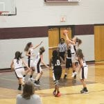 Eighth grade Lady Bears beat White Oak 36-18