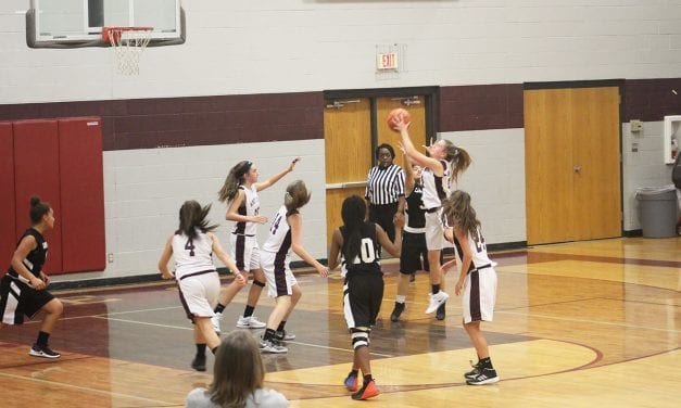 Eighth grade Lady Bears beat White Oak 36-18