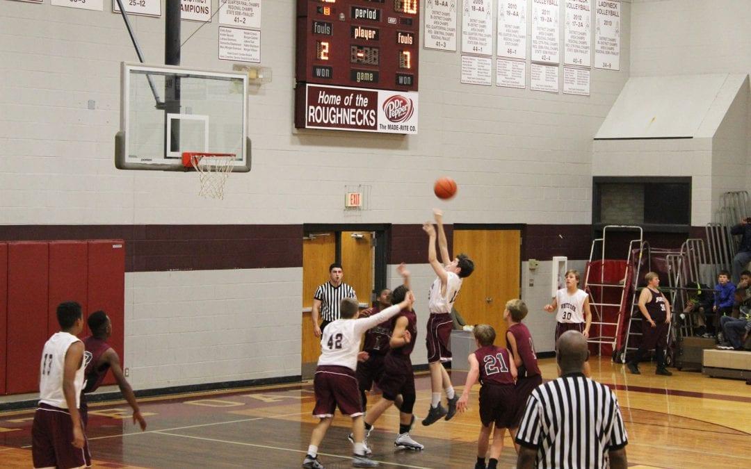 White Oak 8th grade beats Arp