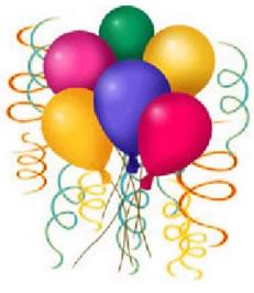 November Happy Birthday Balloons
