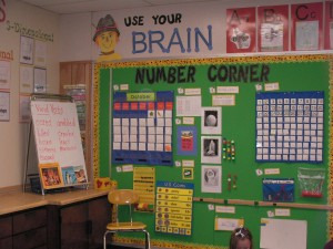 Number Corner and Meeting Spot
