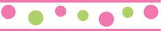 divider pinkgreen dots
