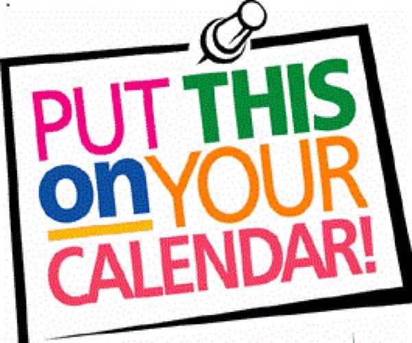 mark your calendars white oak primary school Mark Your Calendar Templates Calendar Clip Art