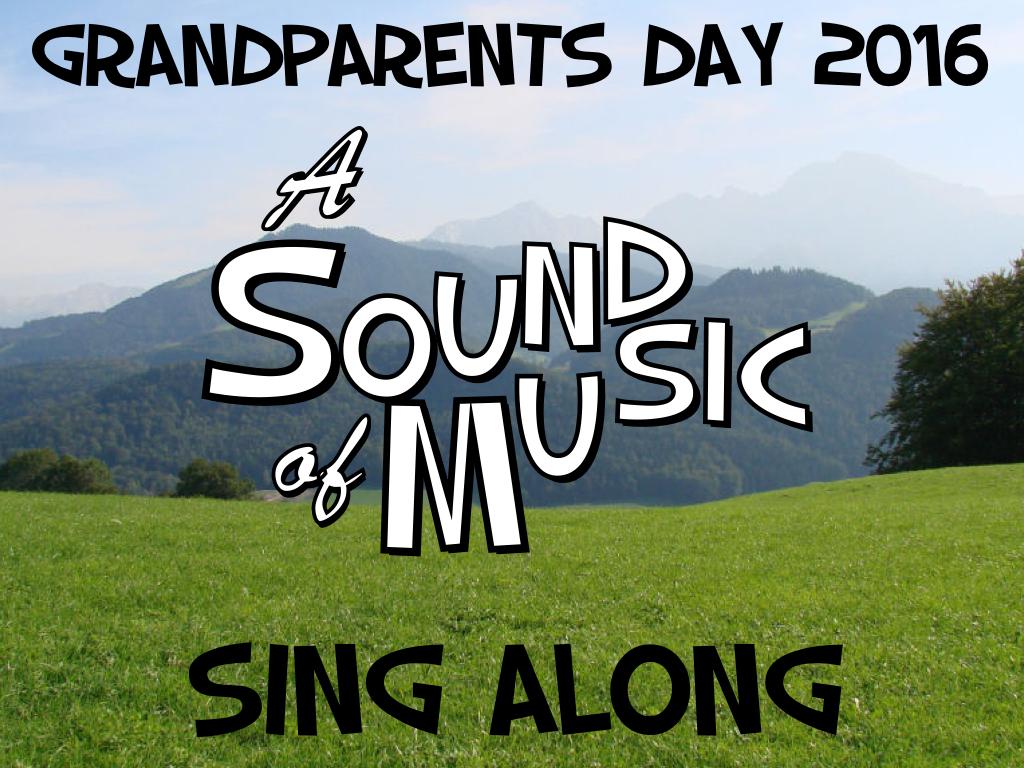 Grandparent's Day Title Slide