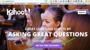 kahoot free account