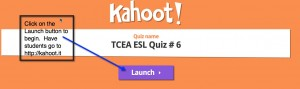 kahoot launch