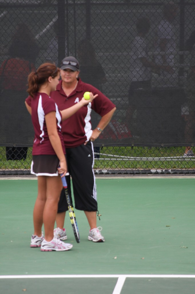 Brittany Stone & Coach Tammy Cloud