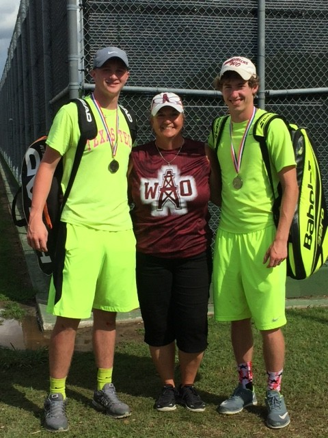 Landry, Coach Cloud, Dax Regional Tourney in College Station 2016
