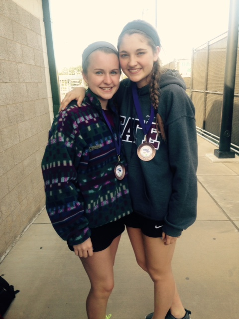 Niki and Cayman 2X State Qualifiers 2015 & 2016 Girls Doubles