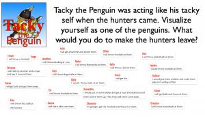 Corbell Tacky responses screenshot