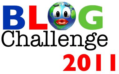 blog challenge 2011