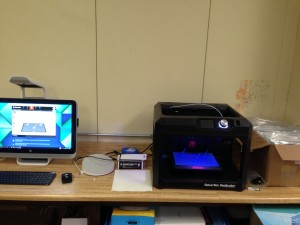 makerbot printer and computer
