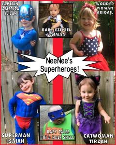 NEENEES SUPERHEROES