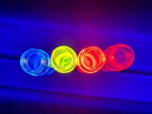 colorful quantum dots