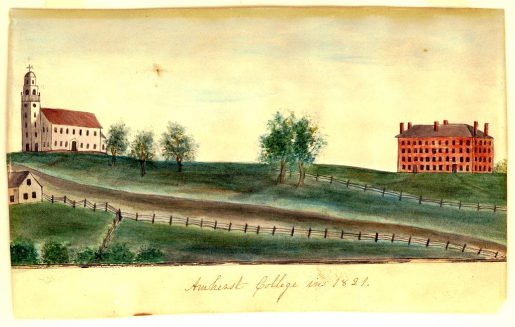 Amherst in 1821