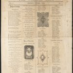 front page of the 1855 Olio