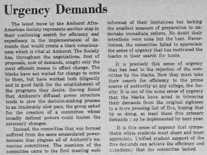 """Urgency Demands"""