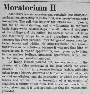 """""""Moratorium II"""""""