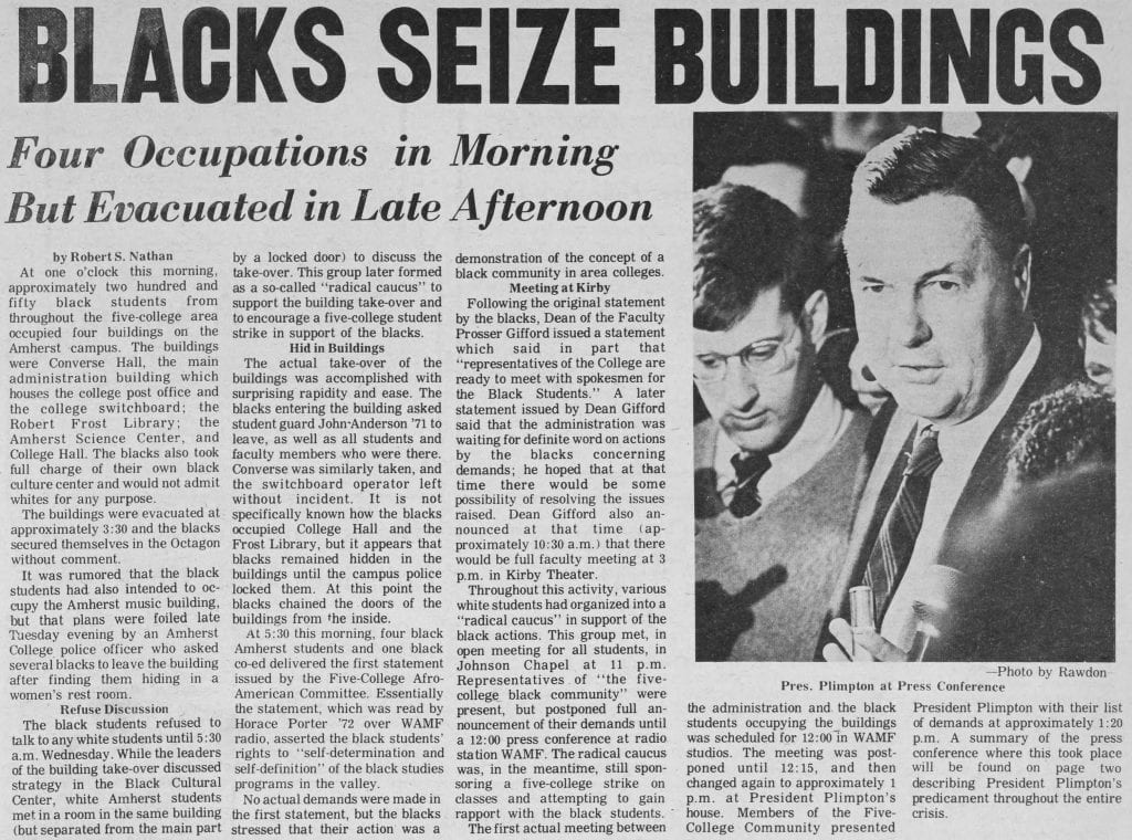 """Blacks Seize Buildings"""