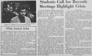 """Student Call for Boycott; Meetings Highlight Crisis"""