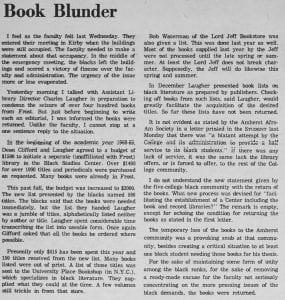 """""""Book Blunder"""""""