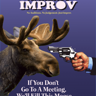 Poster spoofing famous National Lampoon Cover