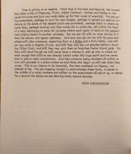 "Excerpt from Grossinger's ""Tarka"" (2)"