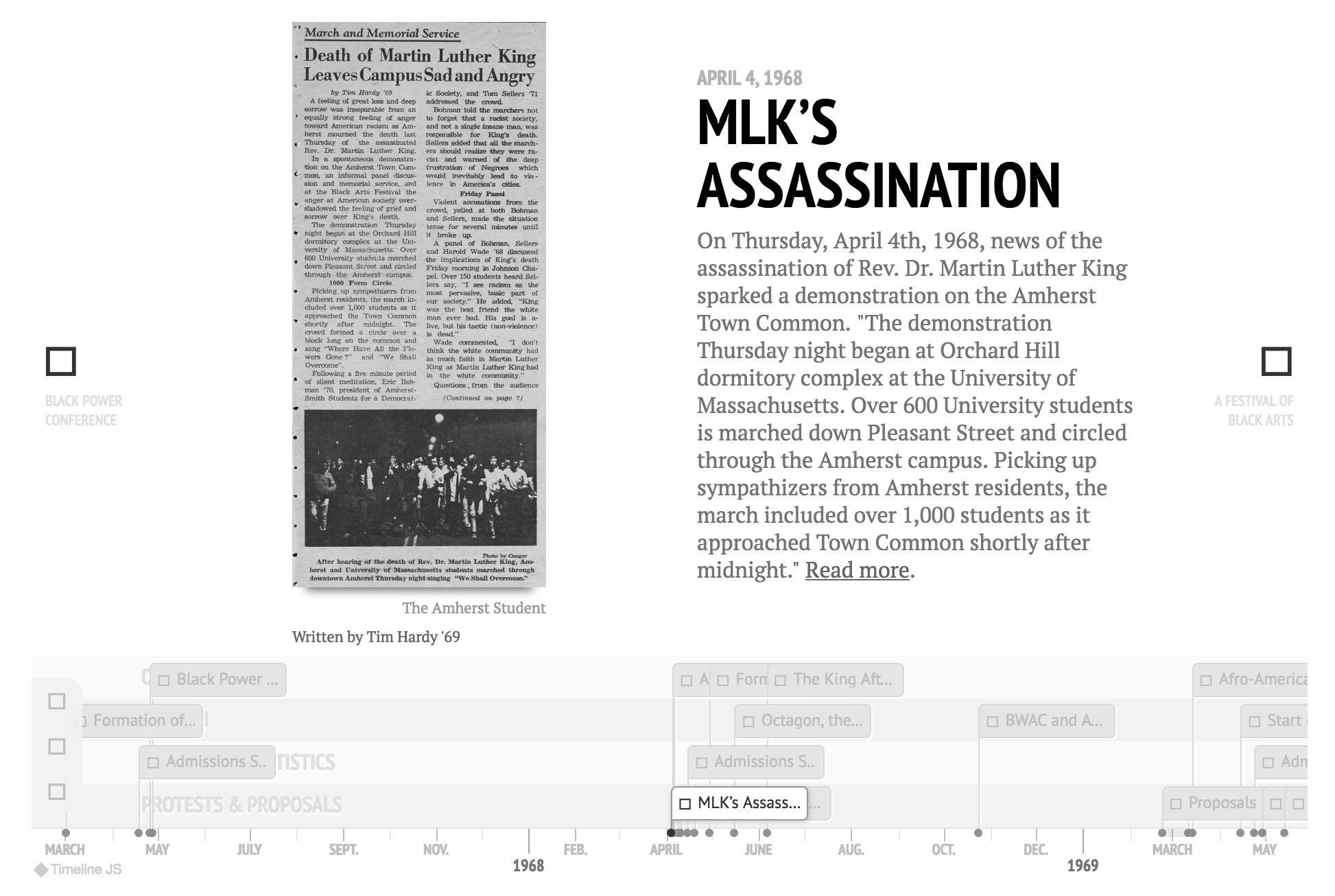 Timeline example 3