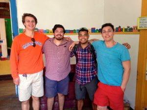 Matt and fellow IFSA-Butler students