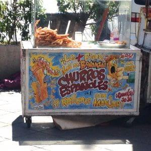 Churro Stand in Valparaíso