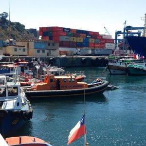 Valparaíso harbor photo