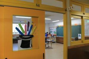 classroom at Hiro Gakuen