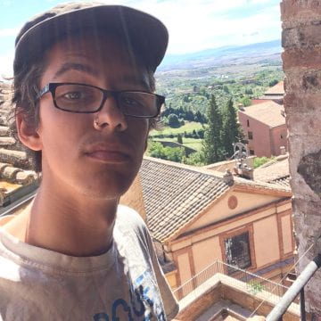 Brian in Siena, Italy